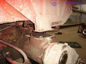 Установка корзины сцепления на тракторе Т 16
