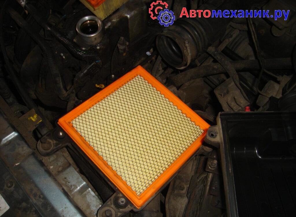 Замена воздушного фильтра на Лада Приора